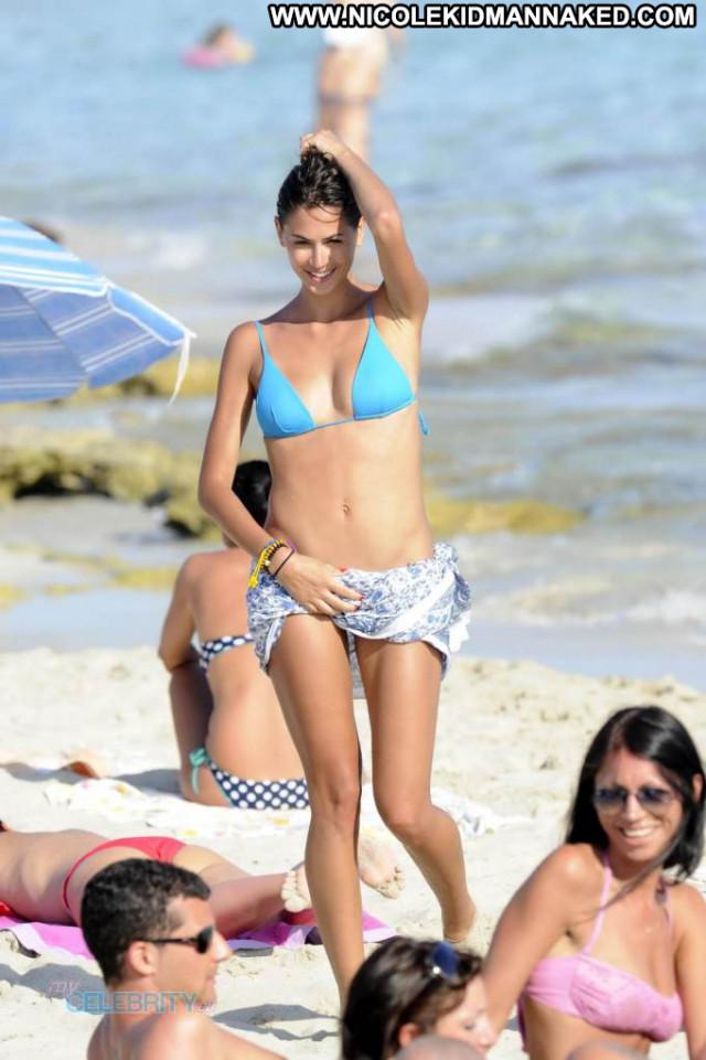 Melissa Satta No Source Posing Hot Celebrity Babe Bikini Beautiful