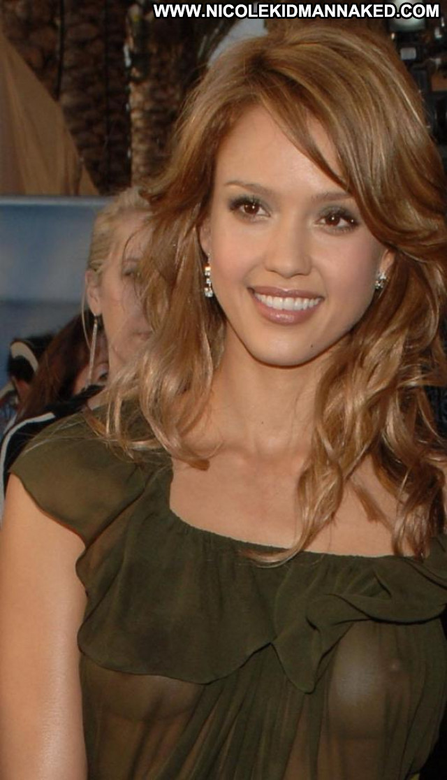 Jessica Alba No Source Celebrity Beautiful Posing Hot Usa See Through