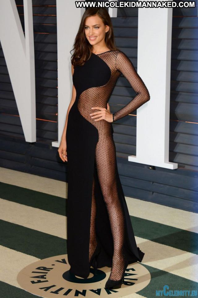 Irina Shayk Vanity Fair Posing Hot Party Babe Celebrity See Through