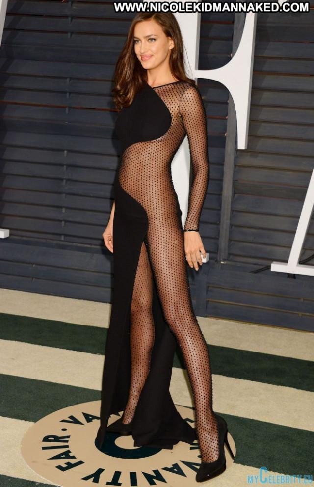 Irina Shayk Vanity Fair Beautiful Posing Hot Party See Through