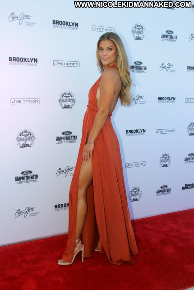 Nina Agdal Red Carpet Babe Panties Celebrity Red Carpet Sexy Posing