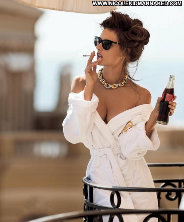 Alessandra Ambrosio Maxim Magazine Nude Celebrity Photoshoot Posing