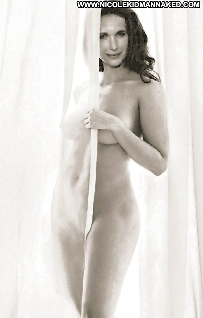 Andie macdowell on shooting first nude scene
